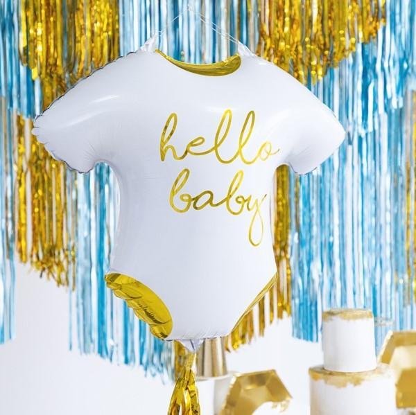 Folienballon hello baby