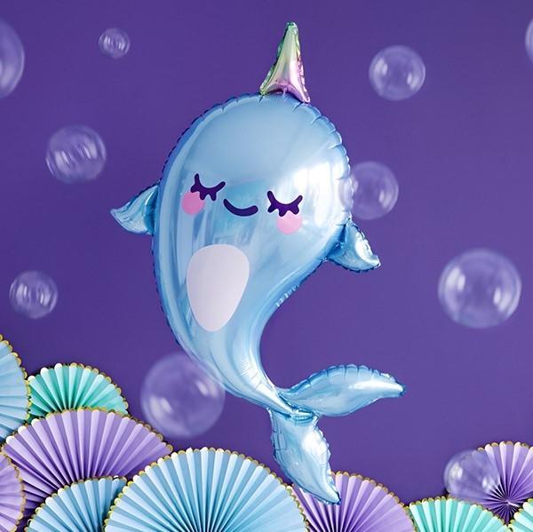 Folienballon Wal