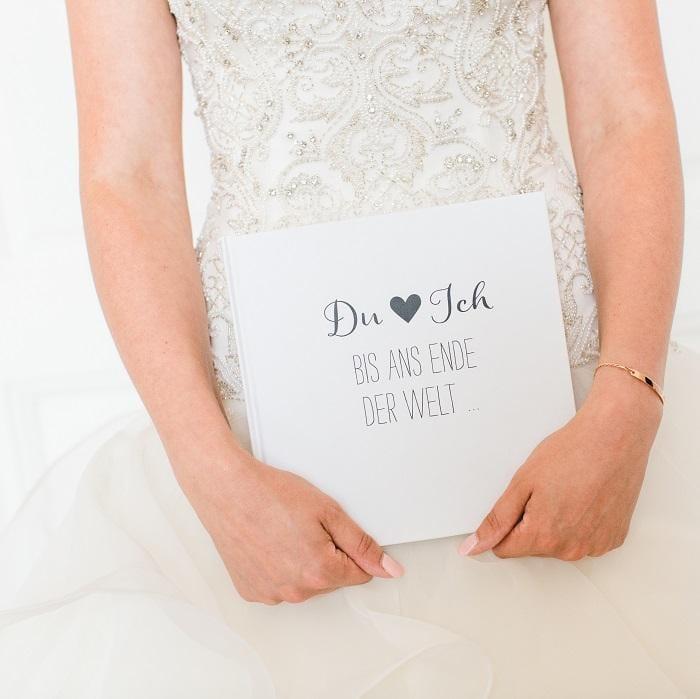 """Gästebuch """"Du & Ich - Bis ans Ende der Welt"""""""