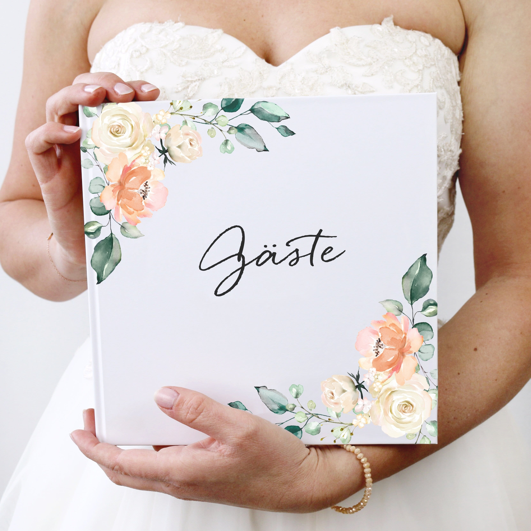 Gästebuch Blütenzauber