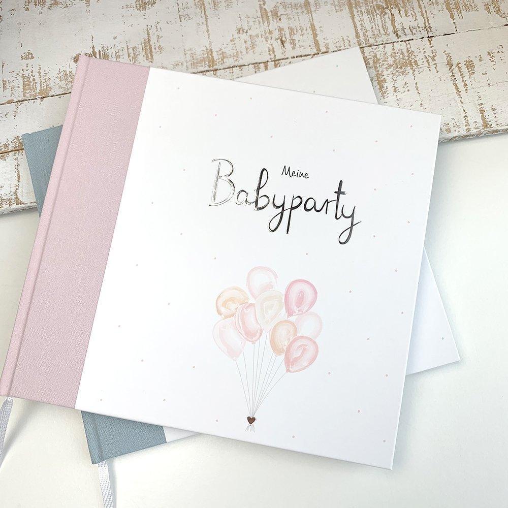 Gästebuch Meine Babyparty rosa
