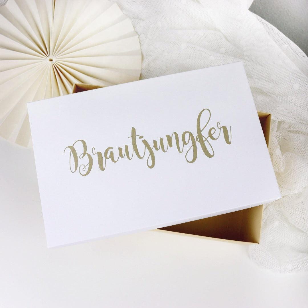 Geschenkbox Brautjungfer