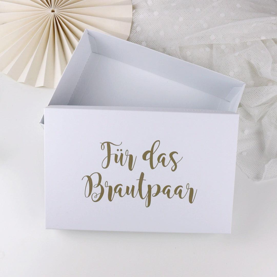 Geschenkbox Für das Brautpaar