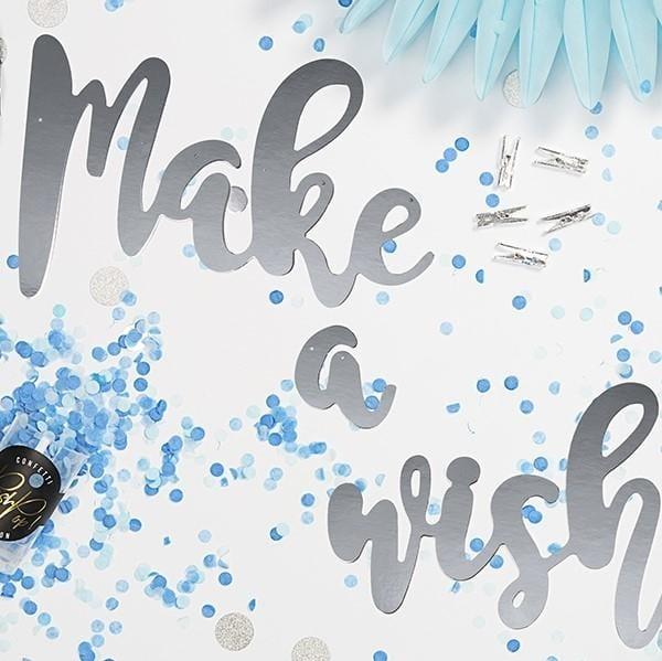 "Girlande ""Make a wish"""