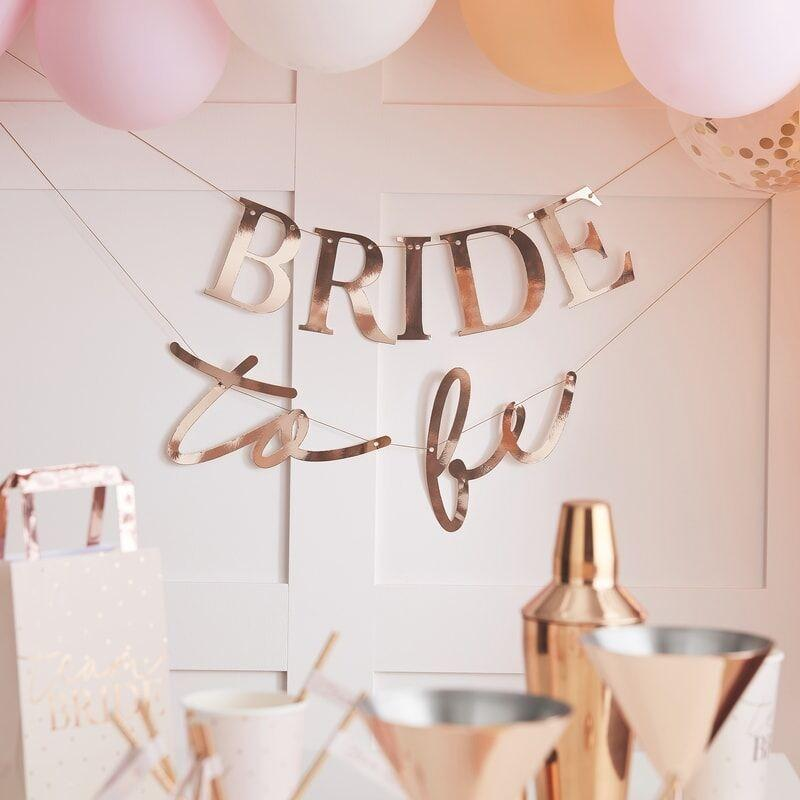 Girlande Bride to be