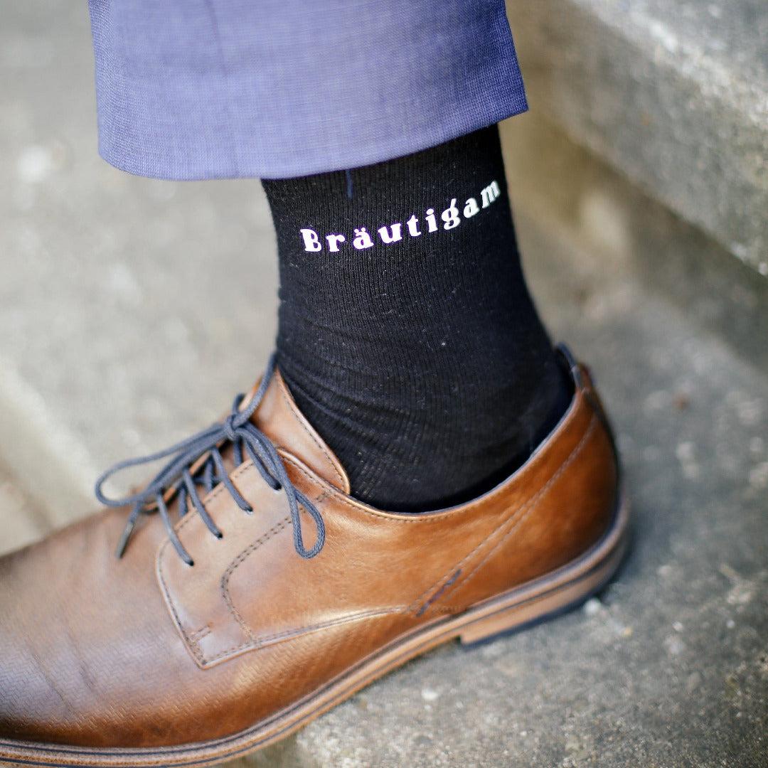 Hochzeit Socken Bräutigam