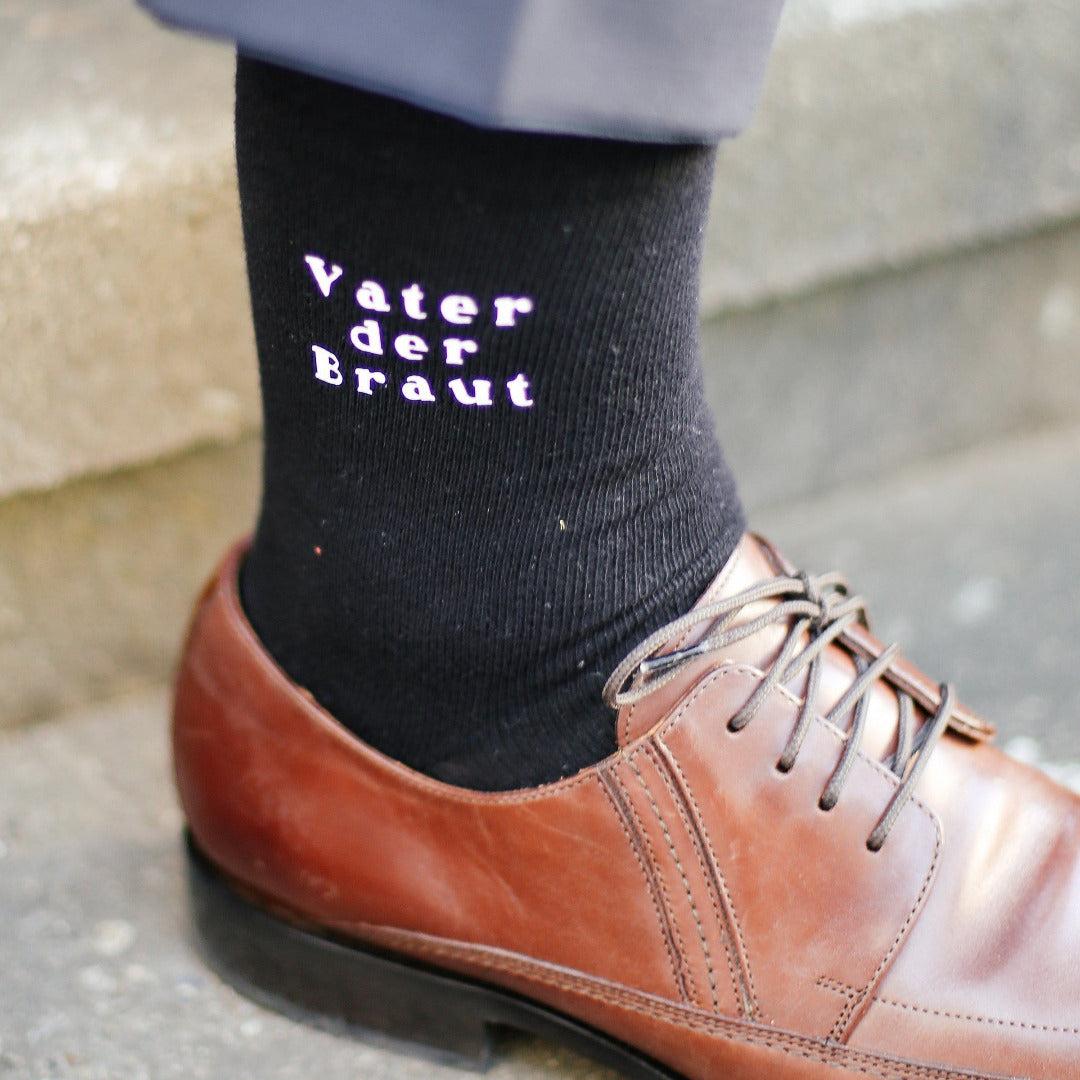 Hochzeit Socken Vater der Braut