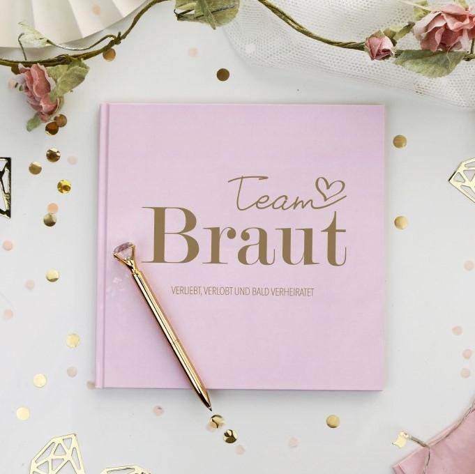 JGA Erinnerungsbuch Team Braut