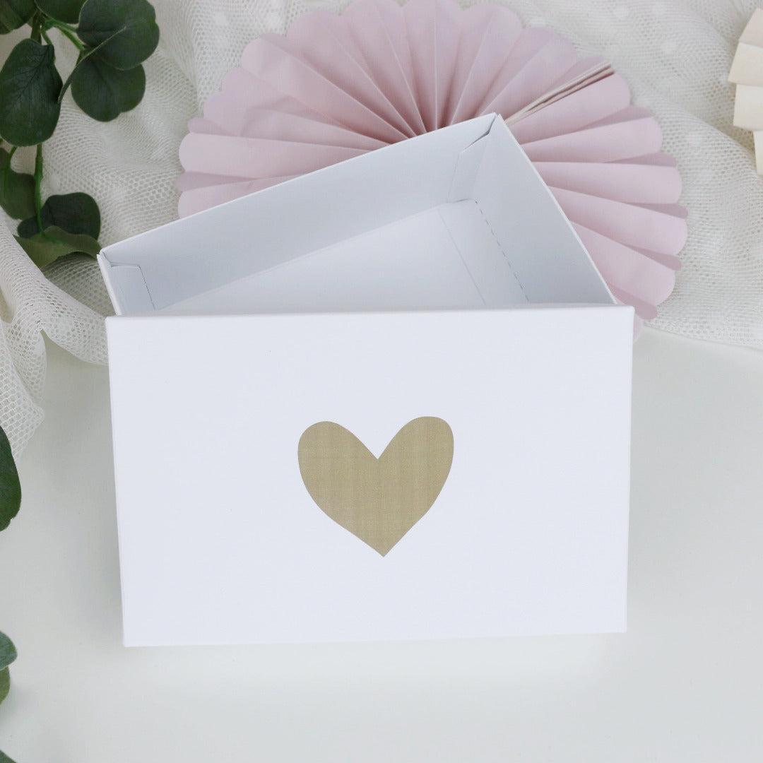 Kleine Geschenkbox Herz