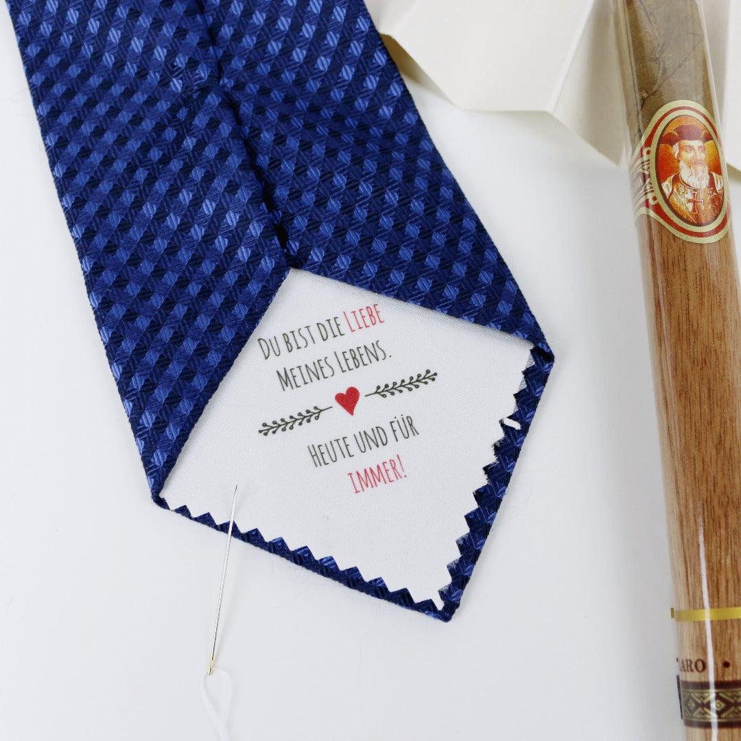 Krawatten Aufnäher Bräutigam