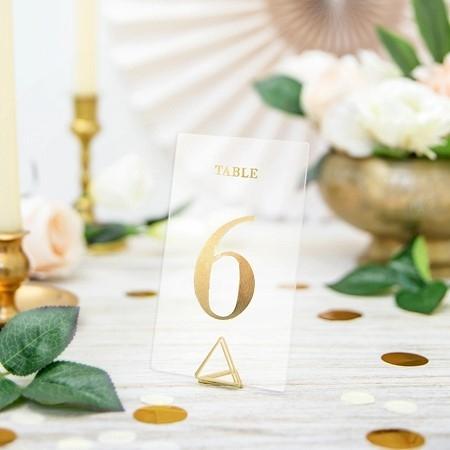 Kunststoff Tischnummern  (1-20)