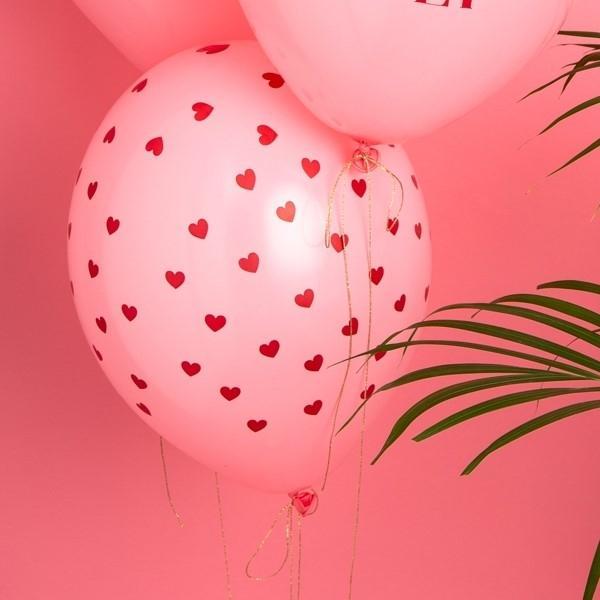"""Latexballons """"Herzchen"""" (6 Stück)"""