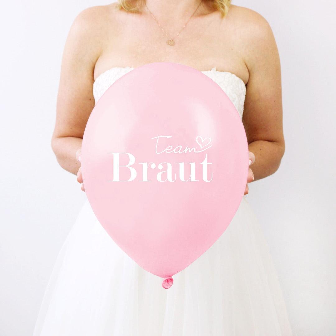 Latexballons Team Braut (10 Stück)