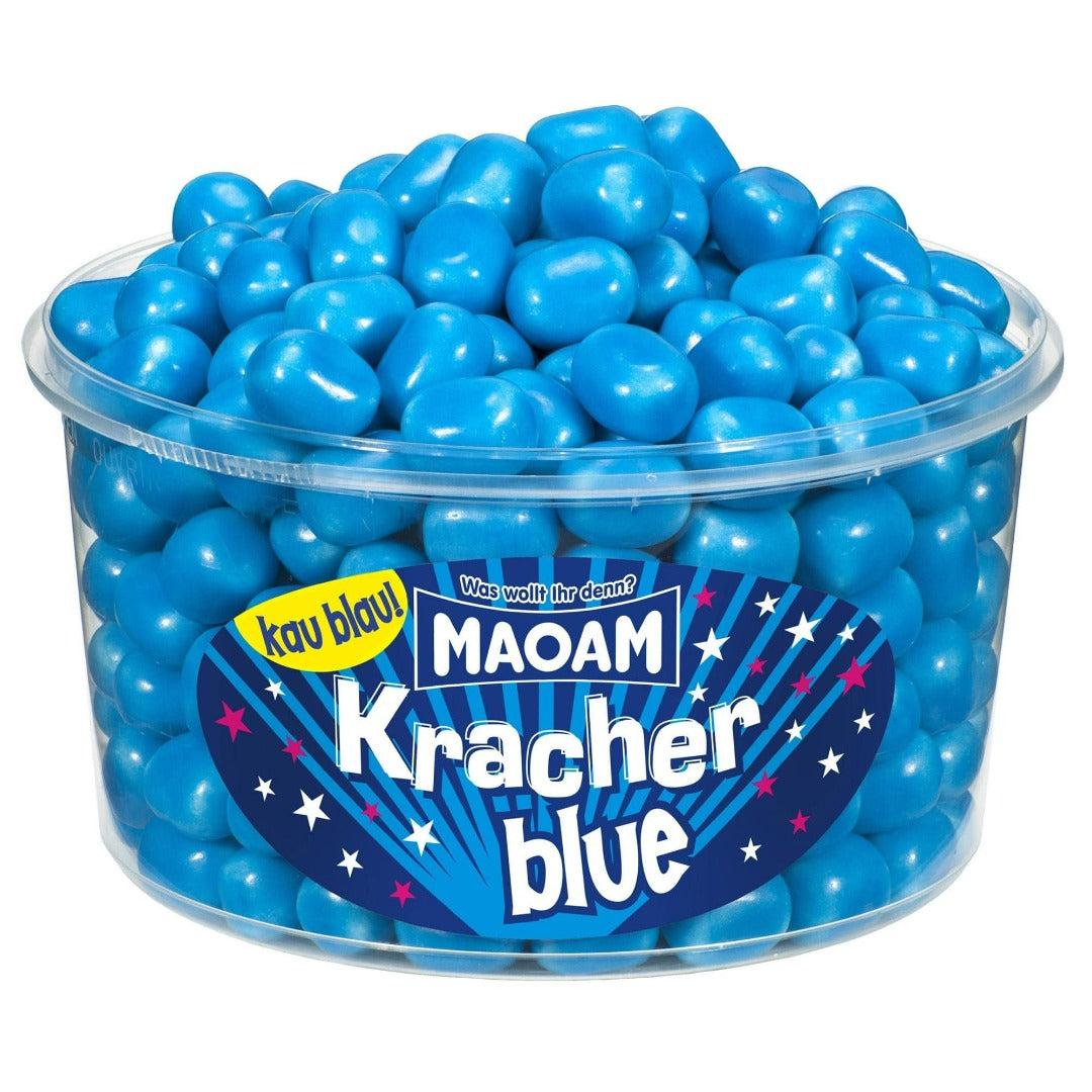 Maoam blaue Kracher - Himbeer
