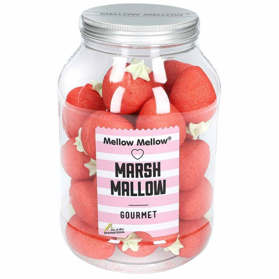 Marshmallows Riesen Erdbeeren Retrodose