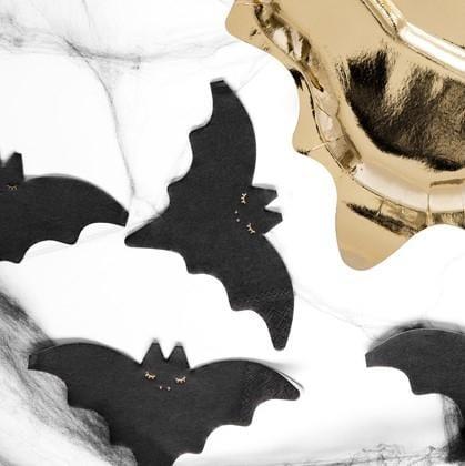 Mini Servietten Fledermaus Halloween (20 Stück)