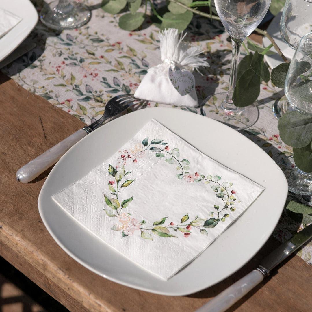Servietten Blütenzauber