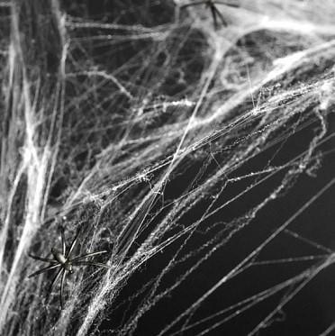 Spinnennetz Deko Halloween