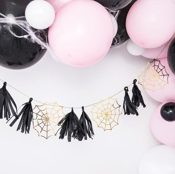 Tassel Girlande Spinnennetz Halloween