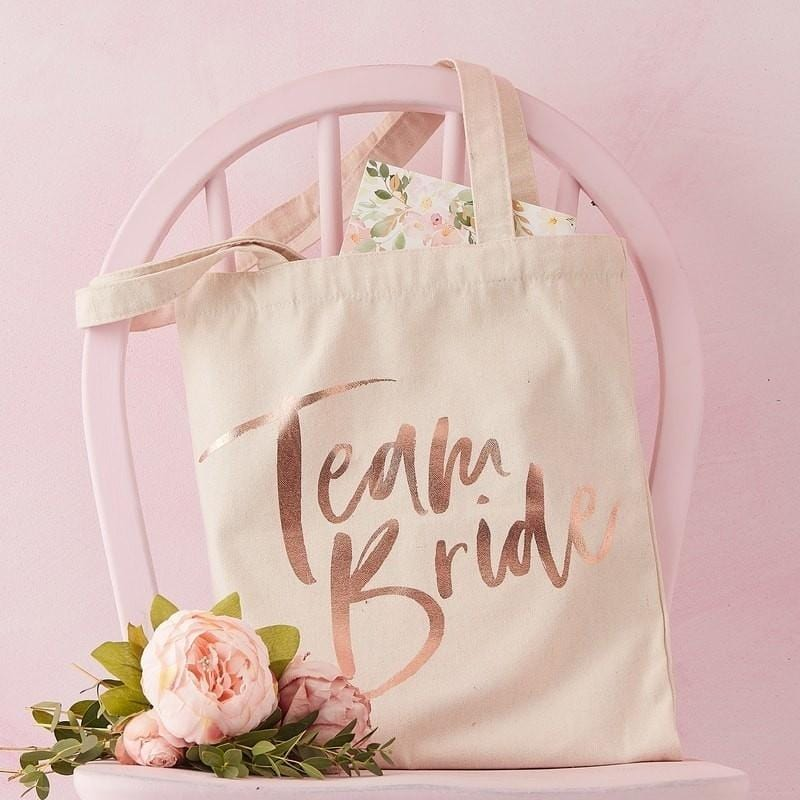Team Bride Tragetasche