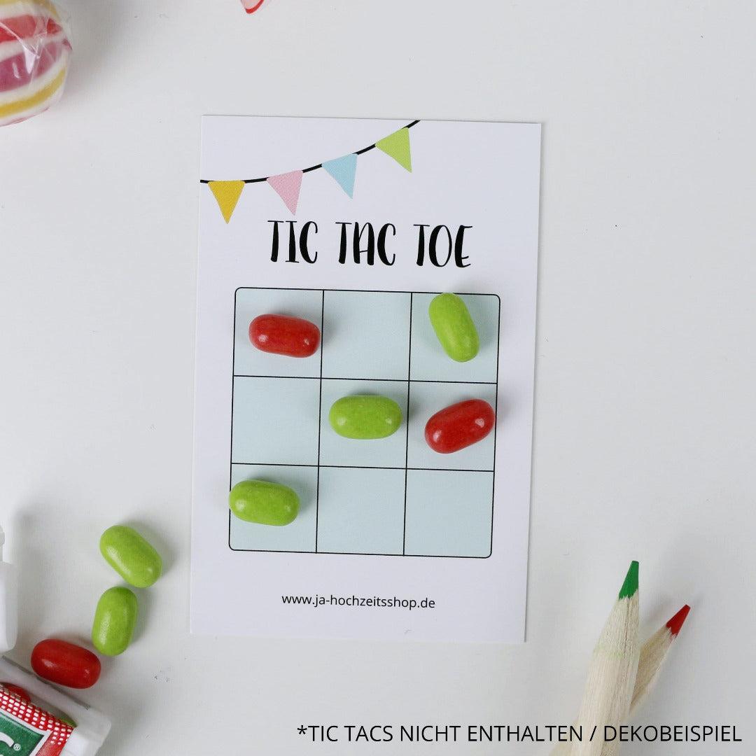 Tic Tac Toe Hochzeitsspiel (50 Stück)