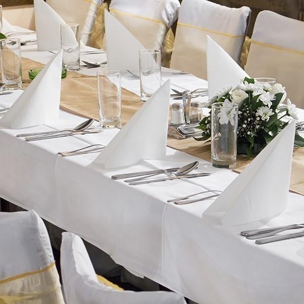 Tischdecke Hochzeit rechteckig