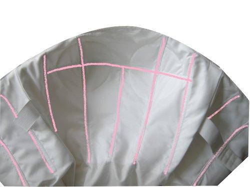 WEDDING HOUSE A-linie BRAUTKLEID Hochzeitskleid Organza Trägerlos mit Deckleisten und Applikationen (40, Elfenbein) - 3
