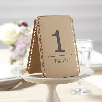 "Tischnummer ""Vintage"" Nummer 1 - 12"
