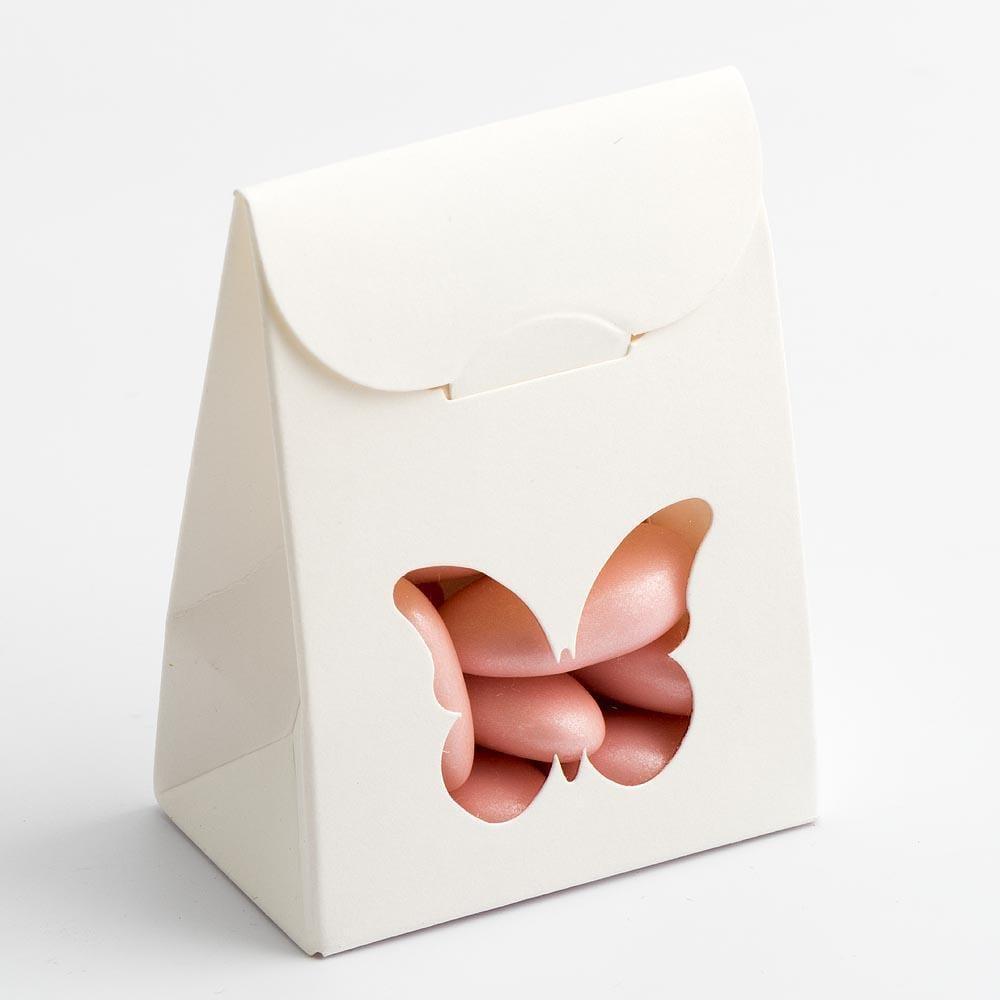 """Verpackung """"Schmetterling"""" - weiß"""