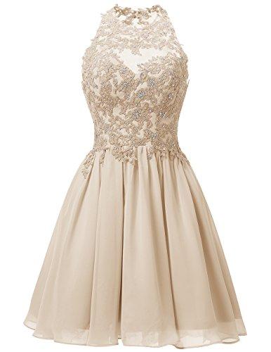 Dresstells Neckholder Brautkleid