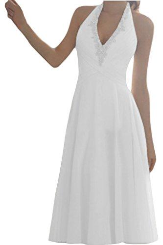 Ivydressing Neckholder Brautkleid