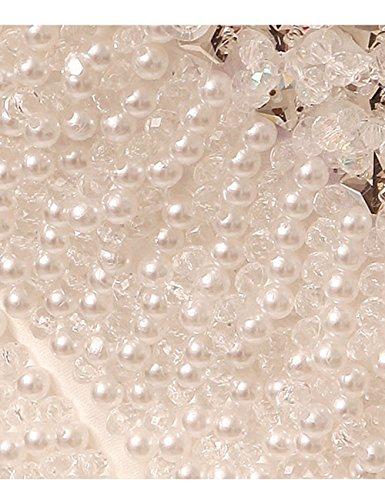 Lactraum HS1043 Brautkleid Hochzeitskleid Strassstein Spitze Perlen Neckholder (Maßanfertigung) - 9