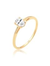 Elli Premium Ring Verlobungsring Valentin Liebe Topas 585 Gelbgold Elli Premium Gold