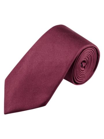 Krawatte von Tom Rusborg in Bordeaux für Herren