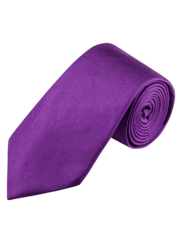 Krawatte von Tom Rusborg in Flieder für Herren