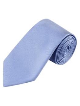 Krawatte von Tom Rusborg in Hellblau für Herren