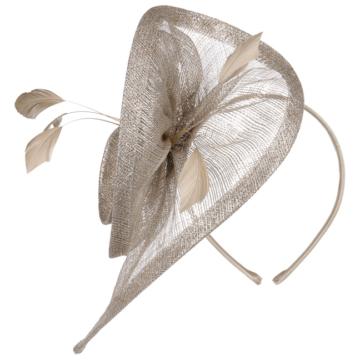 Lierys Silver Spiralia Fascinator Kopfschmuck Hochzeitshut Anlasshut Damenhut