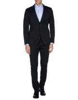 ALESSANDRO DELL´ACQUA Herren Anzug Farbe Dunkelblau Größe 2