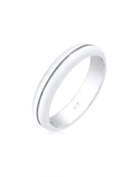 Elli Premium Ring Bandring Trauring Basic Hochzeit Paar 925 Silber Elli Premium Silber