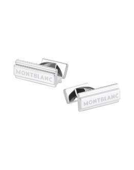 MONTBLANC Herren Manschettenknöpfe Farbe Silber Größe 1