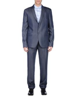 VERSACE JEANS Herren Anzug Farbe Dunkelblau Größe 3