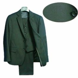 Kommunion Jungen Anzug Festanzug Smoking Schwarz Hochzeitsanzug
